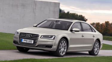 Audi A8 2014 front quarter static