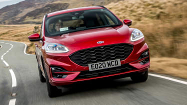 Ford Kuga Plug-in Hybrid front driving