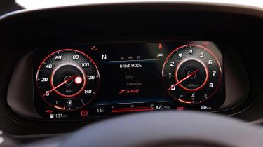Hyundai i10 hatchback instruments