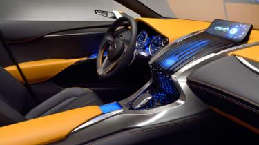 Lexus 4x4 LF-NX concept 2013 interior front