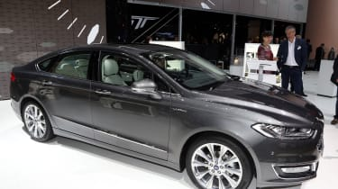 The Ford Mondeo was the first model to wear the revitalised Vignale badge