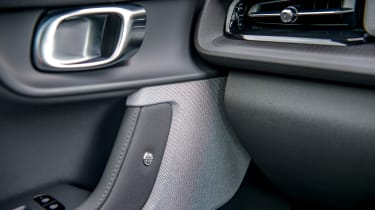 Polestar 2 hatchback door trim