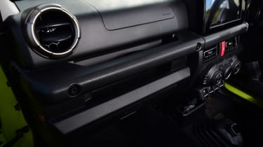 Suzuki Jimny SUV dashboard
