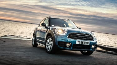 The new Countryman uses mechanical equipment seen on the BMW X1