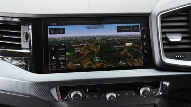 Audi A1 2019 interior infotainment