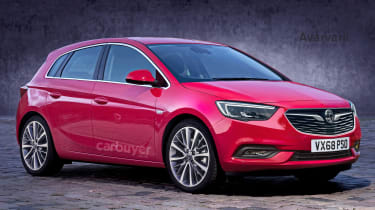 2019 Vauxhall Corsa render