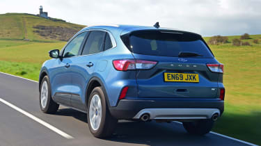 Ford Kuga SUV rear 3/4 tracking