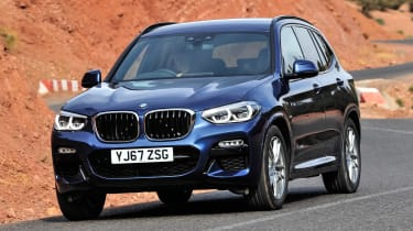 2.0-litre petrol and diesel engines kick off the range, while 3.0-litre versions offer more power