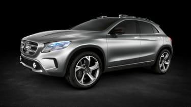 Mercedes GLA 2013 front quarter