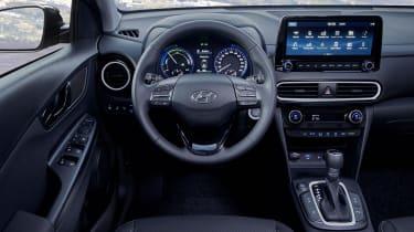 2019 Hyundai Kona Hybrid - interior