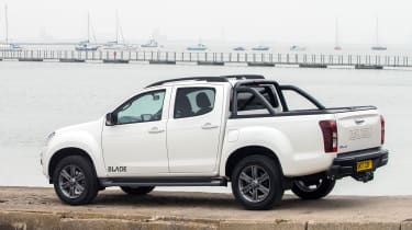 The version of the D-Max pictured is the range-topping Blade model.