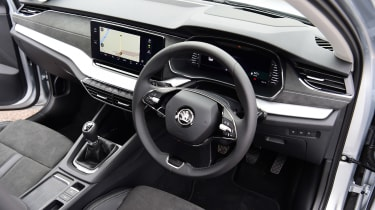 Skoda Octavia hatchback steering wheel