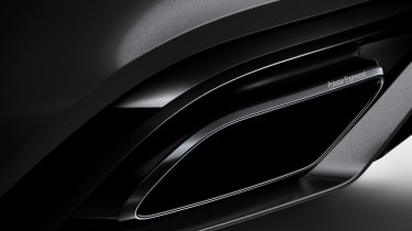 Volvo S60 T8 TwinEngine saloon exhaust