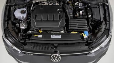 2020 Volkswagen Golf GTD - engine bay