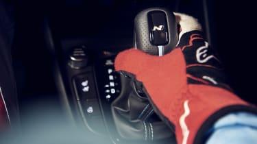 2021 Hyundai Kona N - gear shifter
