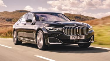 BMW 7 Series saloon - front 3/4 view