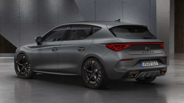 Cupra Leon hatchback - rear view