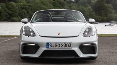 Porsche 718 Boxster Spyder front view