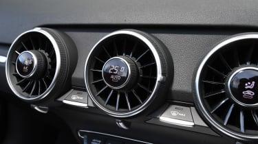 audi tt roadster convertible air vents