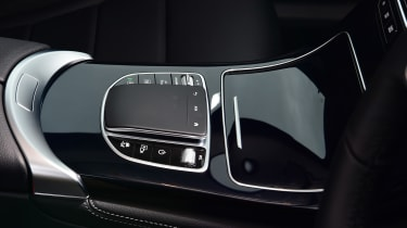 Mercedes GLC SUV controls
