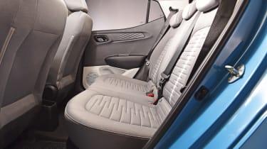2020 Hyundai i10 rear seats