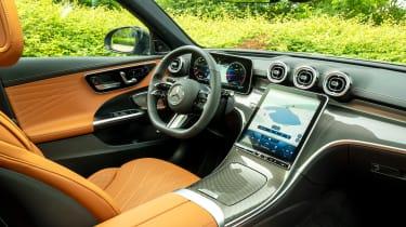 Mercedes C-Class saloon steering wheel