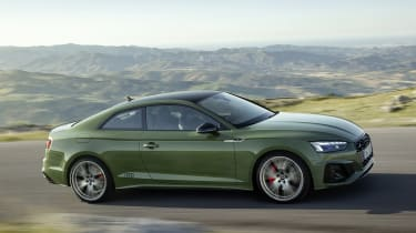 Audi A5 driving side