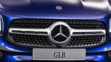 2019 Mercedes GLB - grille close up
