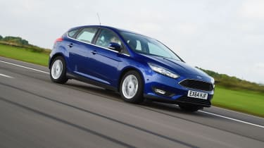Out on the road, the Focus is fun to drive thanks to grippy handling and quick steering.