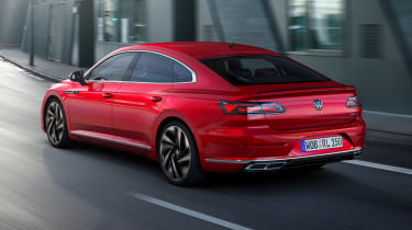 2020 Volkswagen Arteon hatchback - rear 3/4 view