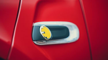 MINI Electric hatchback side grille