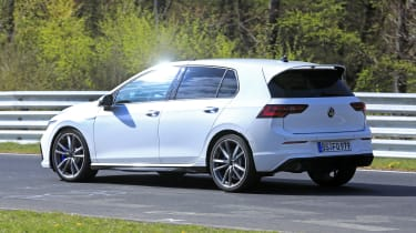 2020 Volkswagen Golf R - rear/side view