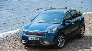 Kia markets the Niro as a large, practical family SUV that happens to be a hybrid, rather than a dedicated 'eco special'