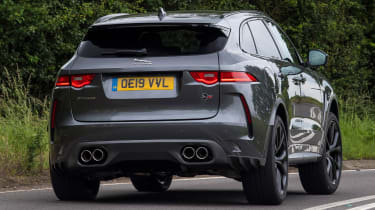 Jaguar F-Pace SUV rear