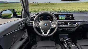 BMW 1 Series hatchback interior