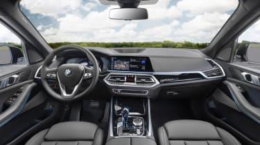 BMW iX5 Hydrogen - interior
