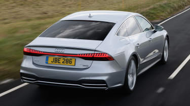 Audi A7 Sportback hatchback rear action