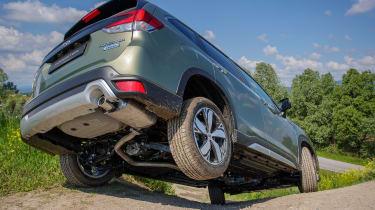 Subaru Forester SUV rear off-roading