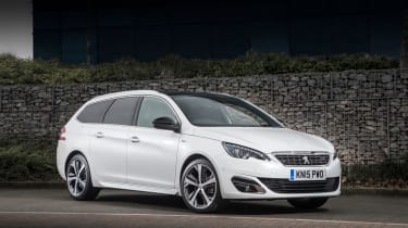 The Peugeot 308 SW is one of the most striking-looking small estate cars