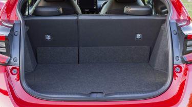 Toyota GR Yaris hatchback boot