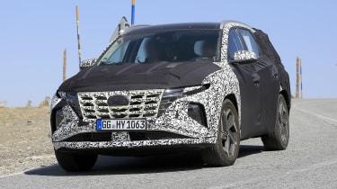 Radical styling changes for new Hyundai Tucson