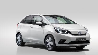 2020 Honda Jazz hybrid - front 3/4 view