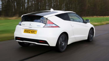 Honda CR-Z driving - rear