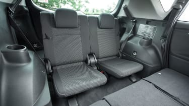 Some versions have two extra seats in the boot that fold flat into the floor
