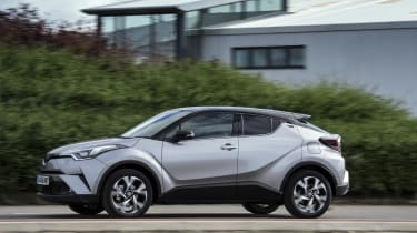 Practicality was considered less of a design priority for the C-HR than style and driver appeal