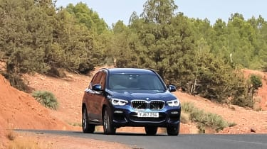 Not only is it good to drive, the latest BMW X3 is also very quiet and comfortable