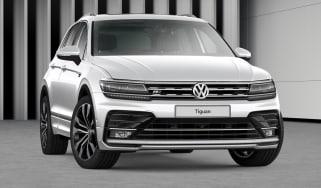 Volkswagen Tiguan R-Line Tech front