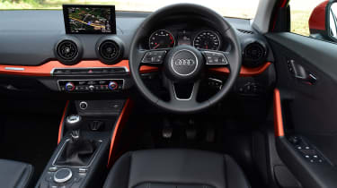 Audi Q2 - interior