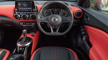 Nissan Juke SUV interior