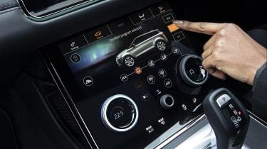 Range Rover Evoque P300e touchscreen